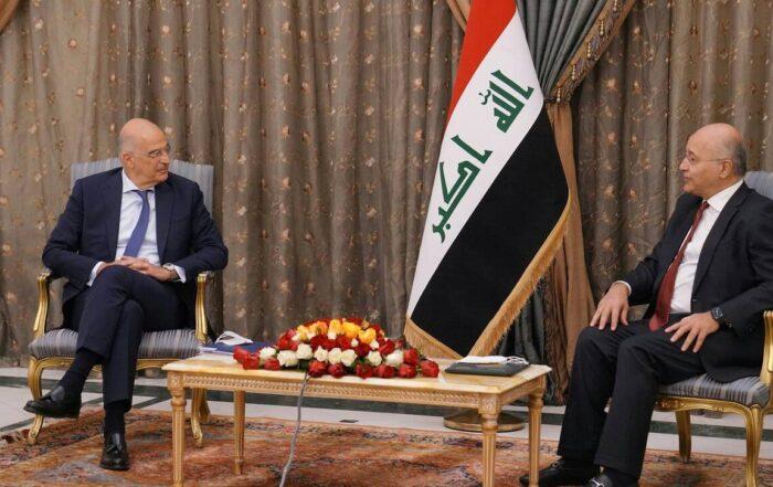 Η επίσκεψη Δένδια στο Ιράκ και το περιστατικό που προκάλεσε η Τουρκία