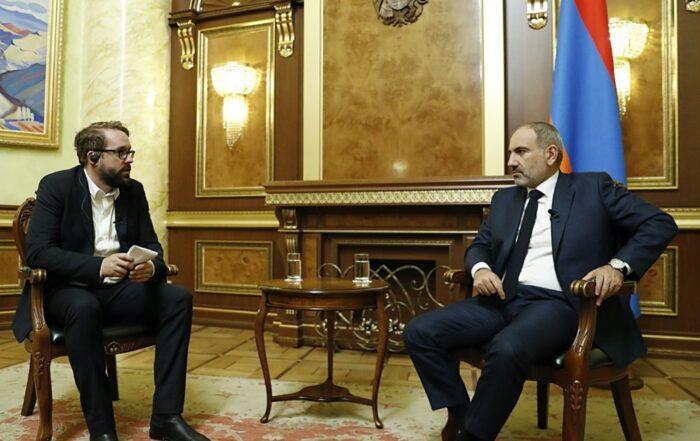 Πρωθυπουργός Αρμενίας: Η Τουρκία σκοπεύει να βρεθεί ξανά έξω από τη Βιέννη