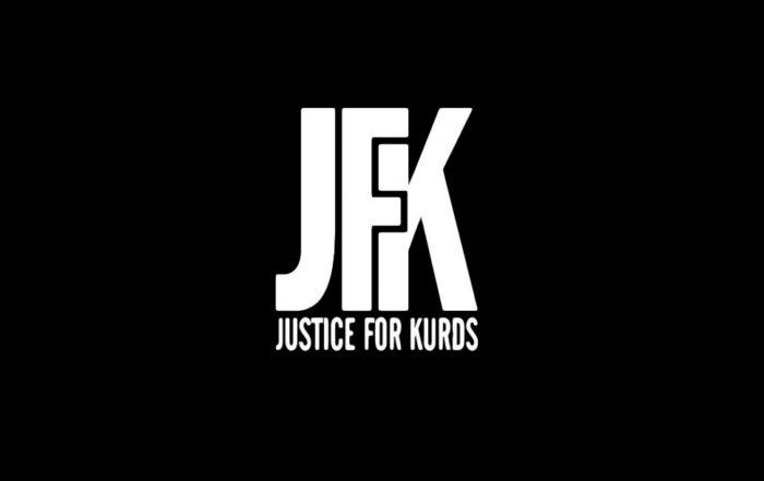 Το μανιφέστο της οργάνωσης «Δικαιοσύνη για τους Κούρδους»