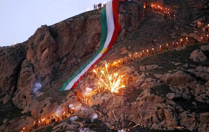 Καλή χρονιά από τα βουνά του Κουρδιστάν