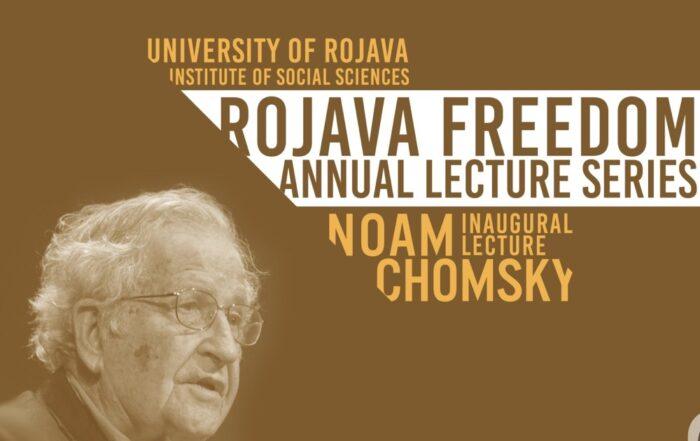 Ο Noam Chomsky θα ανοίξει τη σειρά ετήσιων διαλέξεων στη Ροζάβα