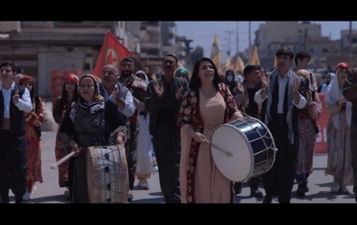 Το συγκρότημα Koma Botan κυκλοφόρησε νέο τραγούδι για τους μαχητές που μάχονται την τουρκική εισβολή