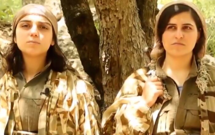 Αγωνίστριες του Γυναικείου Ενωμένου Επαναστατικού Κινήματος απευθύνουν έκκληση από το Ιρακινό Κουρδιστάν