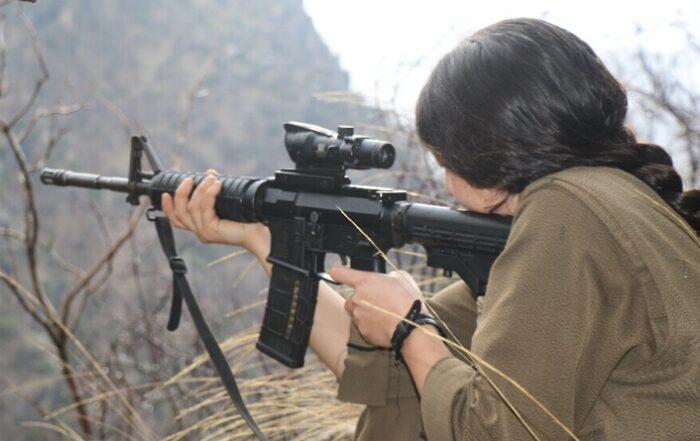 """Επιτυχημένες αντάρτικες ενέργειες των γυναικείων δυνάμεων """"YJA Star"""""""