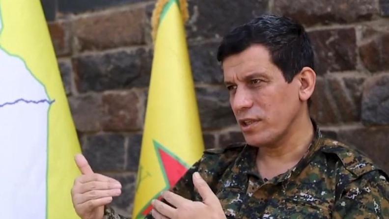 Μαζλούμ Αμπντί: Το ISIS αναδιοργανώνεται σε μέρη που ελέγχονται από την Τουρκία