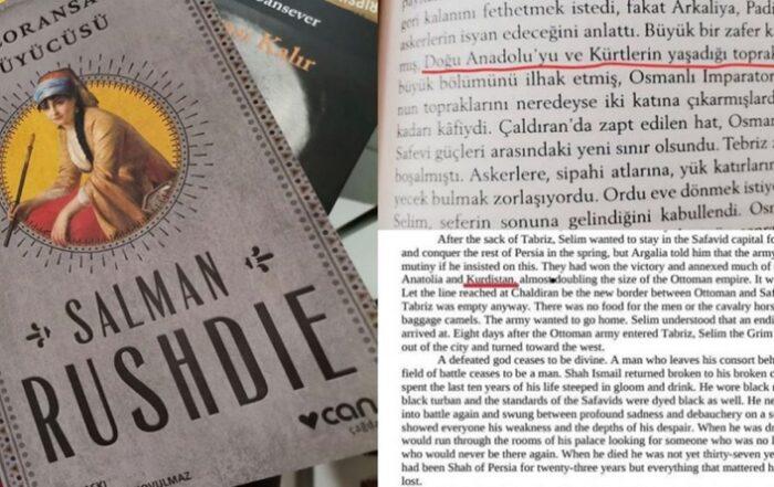 Οι Κοέλιο και Ρούσντι λογοκρίθηκαν στην Τουρκία: η λέξη «Κουρδιστάν» αφαιρέθηκε από τις τουρκικές εκδόσεις των μυθιστορημάτων τους