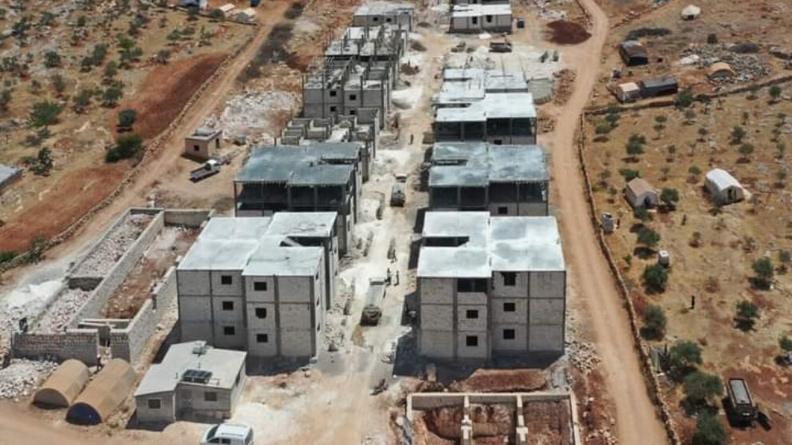 Το τουρκικό κράτος χτίζει σπίτια για τζιχαντιστές μισθοφόρους στο Αφρίν