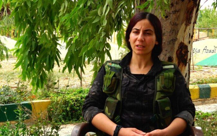 Διοικήτρια YPJ: Καμία δύναμη δεν μπορεί να νικήσει τη βούληση των γυναικών