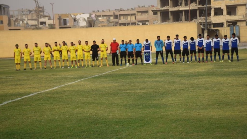 Ξεκίνησε το πρωτάθλημα ποδοσφαίρου της Αυτόνομης Διοίκησης της Βόρειας και Ανατολικής Συρίας