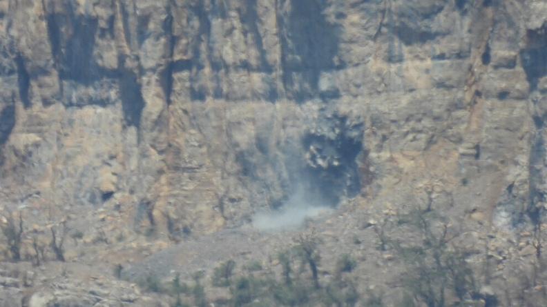 Πλάνα αποδεικνύουν τη χρήση χημικών αερίων από τον τουρκικό στρατό στο Αβασίν