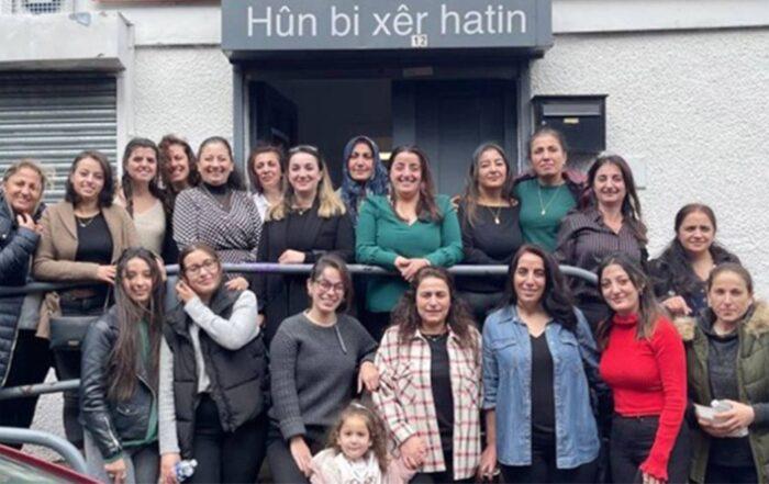 Η Κουρδική Γυναικεία Πρωτοβουλία της Σκωτίας δημιουργήθηκε για να αγωνιστεί για τα δικαιώματα των γυναικών