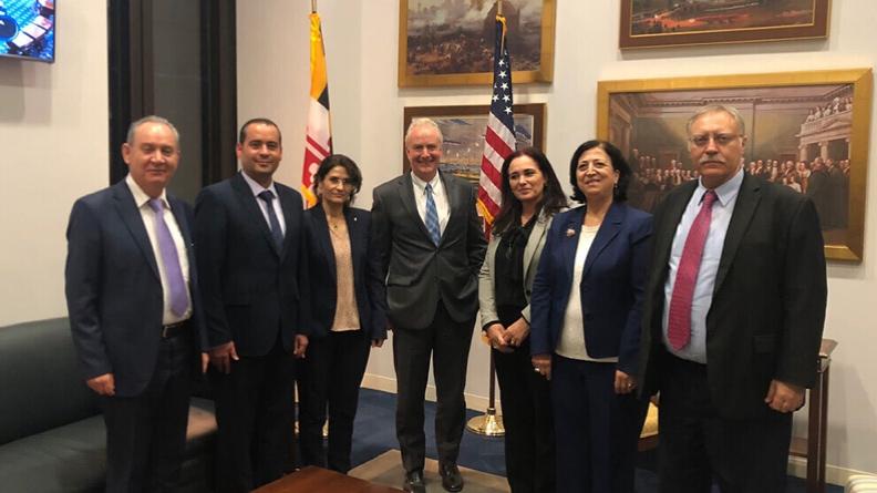 Η αντιπροσωπεία της βορειοανατολικής Συρίας συνεχίζει το διπλωματικό της έργο στις ΗΠΑ