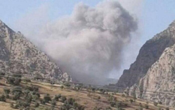 Νέα πλάνα «πράσινου καπνού» μαρτυρούν και πάλι τη χρήση χημικών όπλων από την Τουρκία
