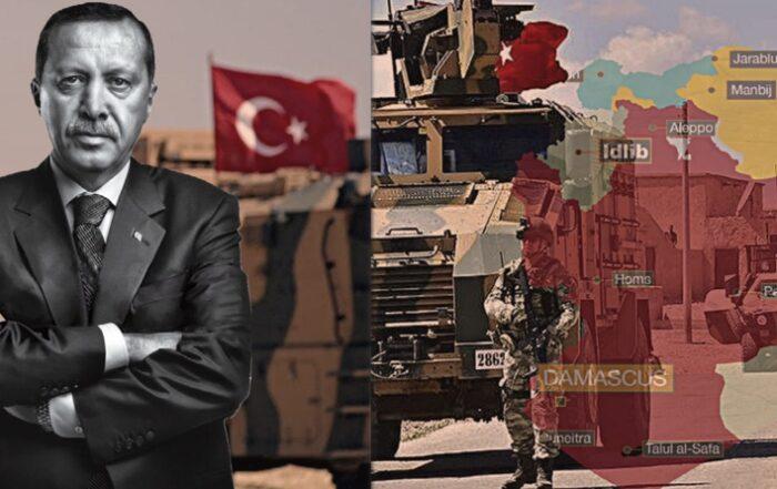 «Φαίνεται ότι η κυβέρνηση της Άγκυρας κάνει σχέδια για να φτάσει μέχρι το Χαλέπι»