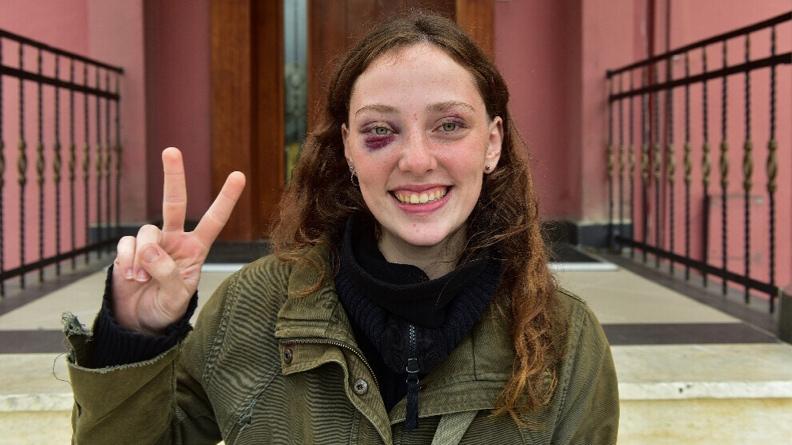 Φοιτήτρια του Πανεπιστημίου του Βοσπόρου: Δεν φοβόμαστε